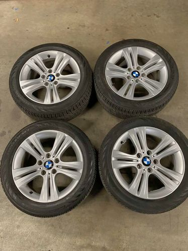 """OEM BMW 3 Series Wheels And Tires 5x120 17""""  for sale in Salt Lake City , UT"""
