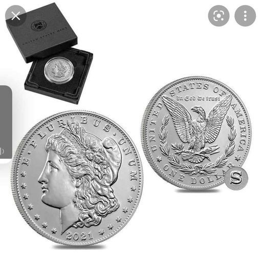 2021 S Morgan Silver Dollar for sale in Centerville , UT