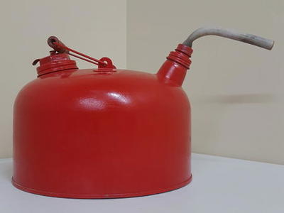 Antique Metal Gas Can Retro Gas Can