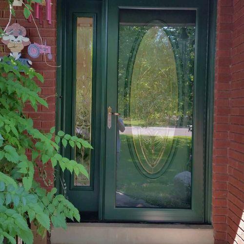 New Storm doors installed for sale in Layton , UT