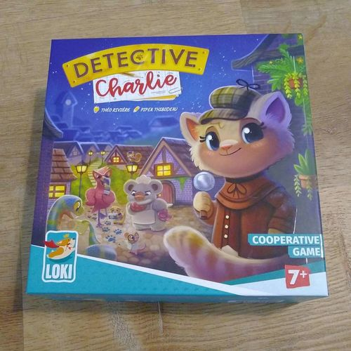 Detective Charlie board game for kids for sale in Logan , UT