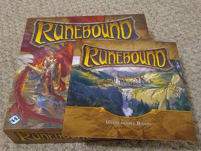 Runebound 3rd Edition with Unbreakable Bonds