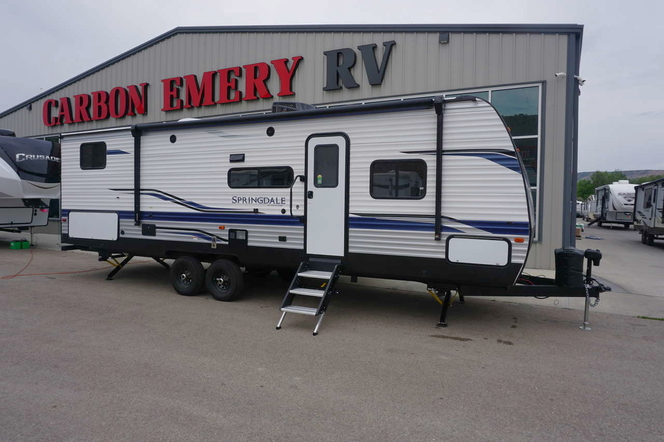 NEW ARRIVAL ! 2022 KEYSTONE SPRINGDALE 298BH WITH BUNKS AND SOLAR for sale in Helper , UT