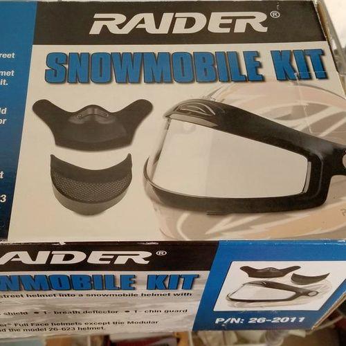 Raider Snowmobile helmet kit - new for sale in Bluffdale , UT