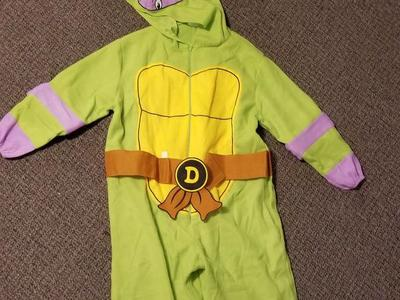 Adult Donatello Ninja Turtle Costume One Size