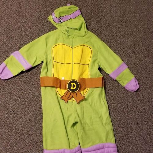 Adult Donatello Ninja Turtle Costume One Size for sale in Bluffdale , UT