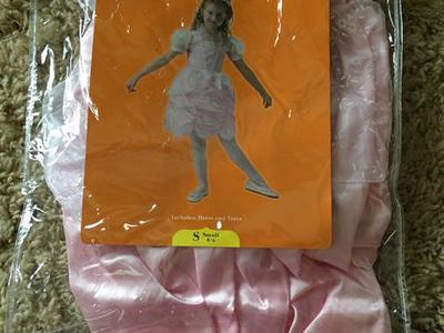 Princess satin dress Halloween costume size S