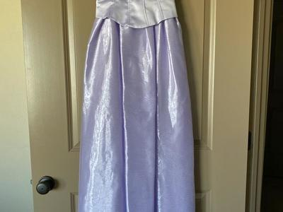 Prom dance dress light purple lavender