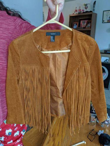 Suede Fringe Jacket for sale in South Ogden , UT