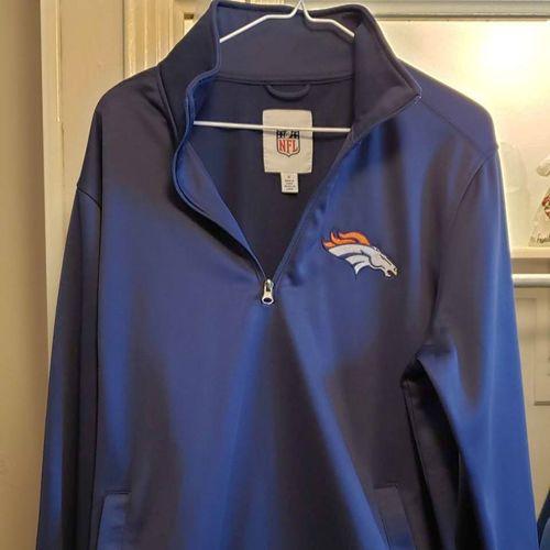 Men's Medium Broncos Sweater with Zipper  for sale in Orem , UT