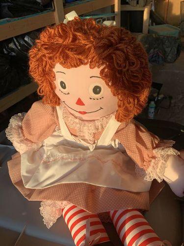 Raggedy Ann type doll for sale in Stockton , UT