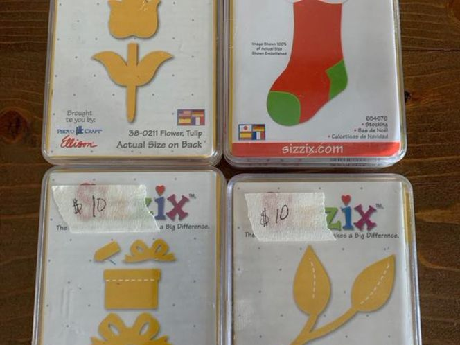 Sizzix die cuts yellow for sale in Stockton , UT