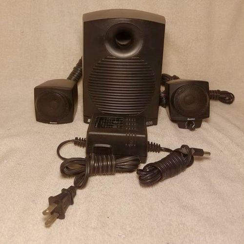 DESKTOP SPEAKERS BOSTON BA635 MINI SPEAKERS+BASS for sale in Salt Lake City , UT
