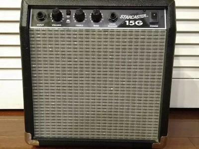 FENDER STARCASTER 15G AMP EX COND READY FOR USE.