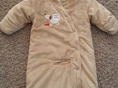 Boys 6-9 month brown coat