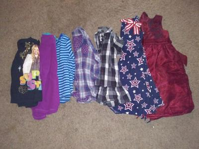Girls size 7/8 lot