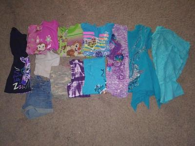 Girls size 7/8 summer lot
