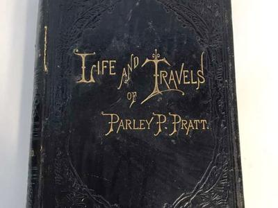 Leather 1st Edition Autobiography Of Parley Pratt