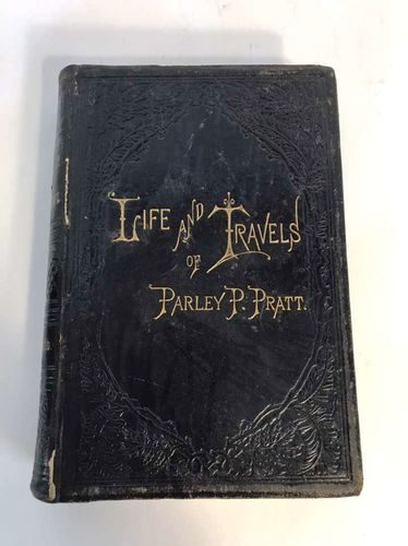 Leather 1st Edition Autobiography Of Parley Pratt for sale in Highland , UT