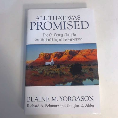 SIGNED All That Was Promised By Blaine Yorgason  for sale in Highland , UT