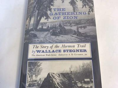 The Gathering Of Zion Wallace Stegner Hardcover