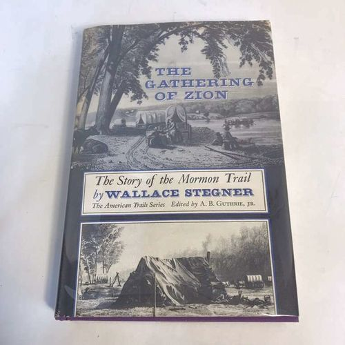 The Gathering Of Zion Wallace Stegner Hardcover for sale in Highland , UT
