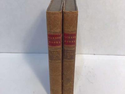 1871 Tale Of Two Cities Dickens 3/4 Leather