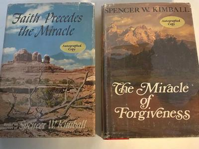 SIGNED Spencer W Kimball Hardcovers
