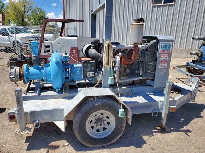 8 inch trash pump Perkins diesel self priming  for sale in Filer , ID