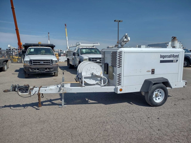 Ingersoll Rand HP375 Towable Diesel Air Compressor 2400hrs for sale in Filer , ID
