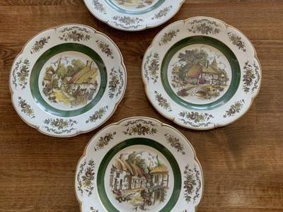 Antique Plate Set