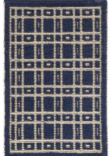 Navy Blue Area Rug / Wool Rug / 5x8 Rug for sale in Lindon , UT