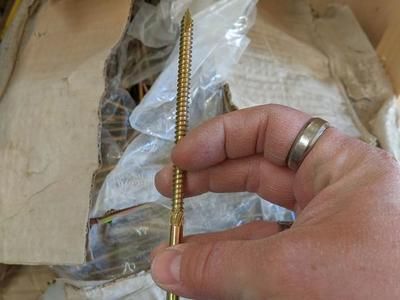 "1/4""x6"" structural screws"