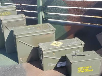 Military Surplus Ammo Cans