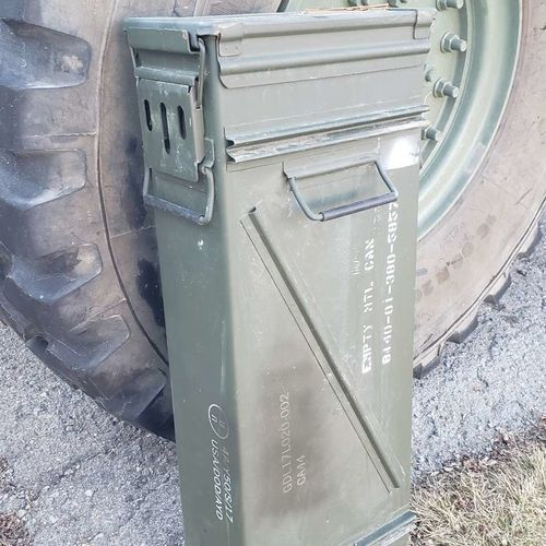 Extra Tall Military Ammo Cans for sale in Provo , UT