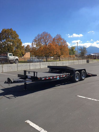22FT 15K Metal Tilt Deck Trailer for sale in Genola , UT