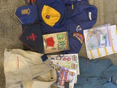 Miscellaneous Cub and Boy Scout items for sale
