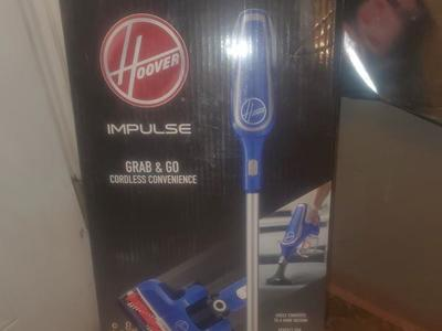 HOOVER IMPULSE CORDLESS VACCUM