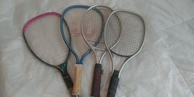 Ektelon Wilson Set of 4 Racquet Rocket Ball for sale in Salt Lake City , UT