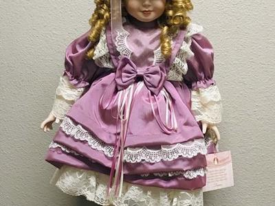 Very Rare Collectible Memories Diane Porcelain Doll