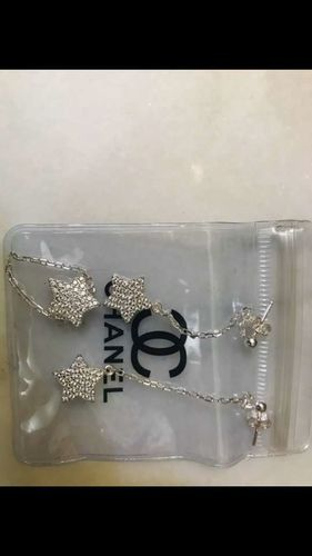 Authentic Chanel  Star Earrings and Ring STUNNINGS!!New old stock! for sale in Salt Lake City , UT