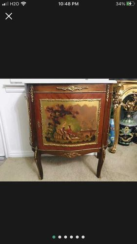 Antique French Louis The XVI painted Marble Cabine for sale in Salt Lake City , UT