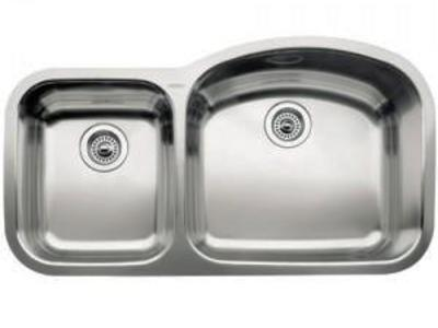 "NEW BLANCO WAY 37"" STAINLESS STEEL 18 G SINK"