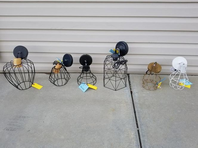 NEW METAL WIRE PENDANT LIGHTS for sale in North Ogden , UT