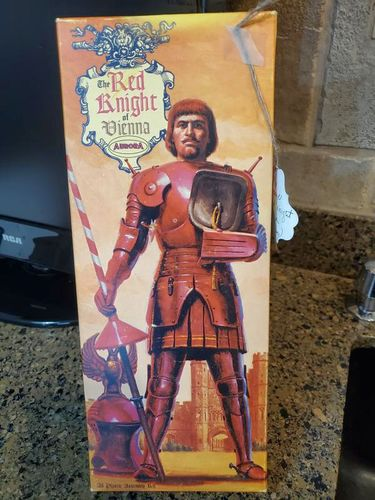 NEW 1963 RED KNIGHT OF VIENNA MODEL KIT for sale in North Ogden , UT