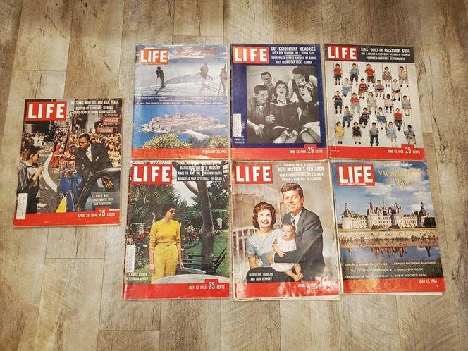 VINTAGE SET OF 7 LIFE MAGAZINES (1958 & 1965) for sale in North Ogden , UT