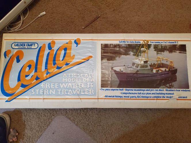 NEW CECLIA FREEWARD 35' STERN TRAWLER MODEL KIT for sale in North Ogden , UT