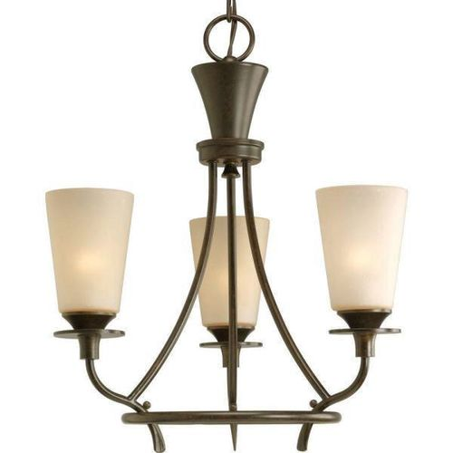 NEW 3 LIGHT CANTANA RUBBED OIL CHANDELIER for sale in North Ogden , UT