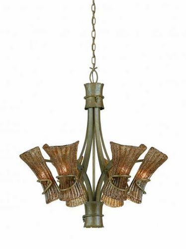 NEW TRIARCH LIGHTING 6 LIGHT BALI CHANDELIER for sale in North Ogden , UT