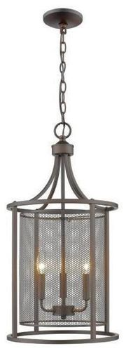 NEW WEATHERS 3 LIGHT RUBBED OIL CHANDELIER for sale in North Ogden , UT